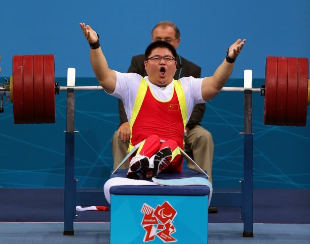 Four golds for China on day of dominance at IPC Powerlifting World Cup