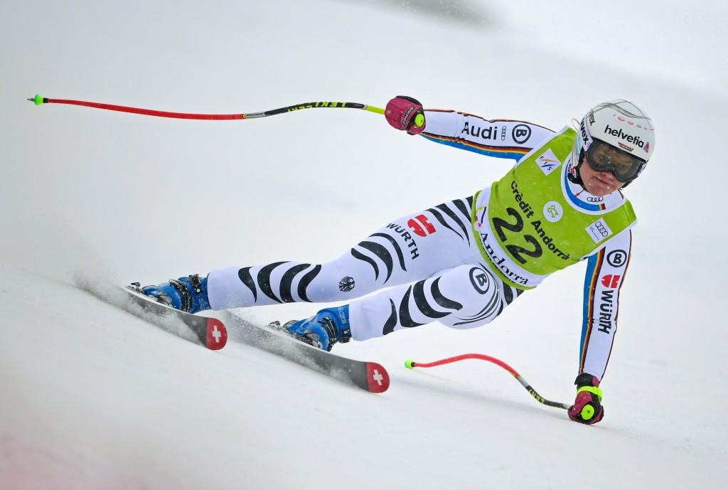 Federica Brignone claimed the race win in Soldeu