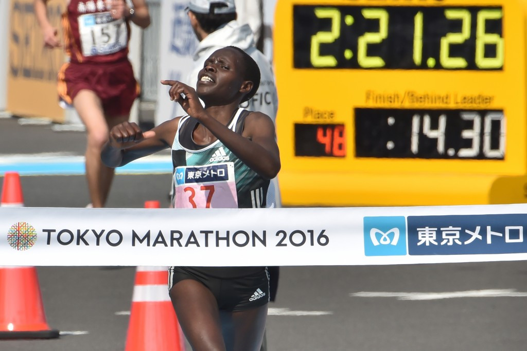 Kiprop breaks course record to earn women's Tokyo Marathon title as overall champions are crowned