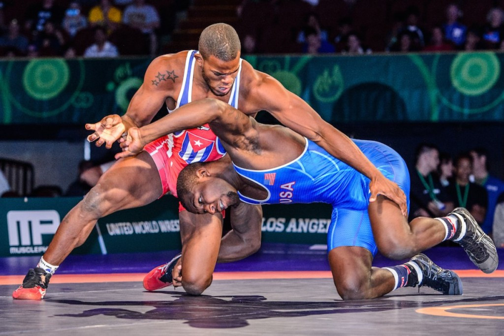 Cuba claimed only one gold despite four of their wrestlers reaching finals