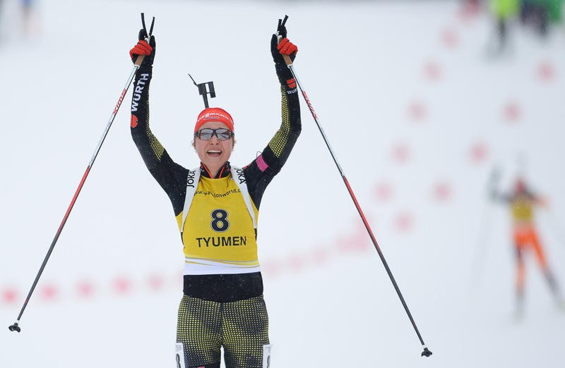 Mass start titles go Germany's way at IBU Open European Championships