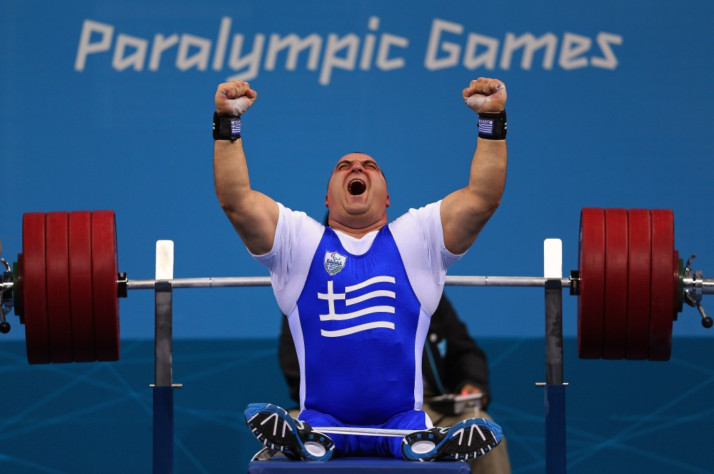 Greek triumphs at IPC Powerlifting World Cup and takes final chance to boost ranking for Rio 2016