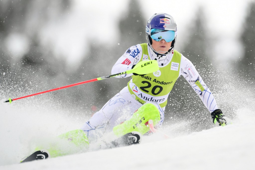 Lindsey Vonn made a swift return from injury ©Getty Images