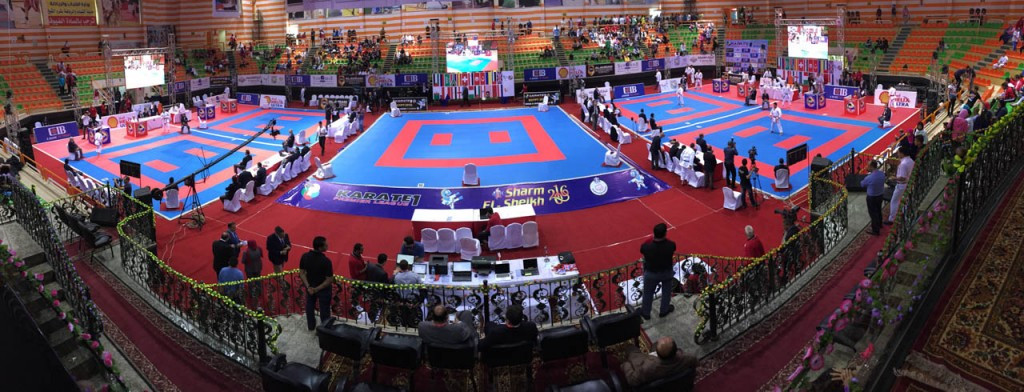 World champion Lotfy leads home success at Karate1 Premier League in Sharm El Sheikh
