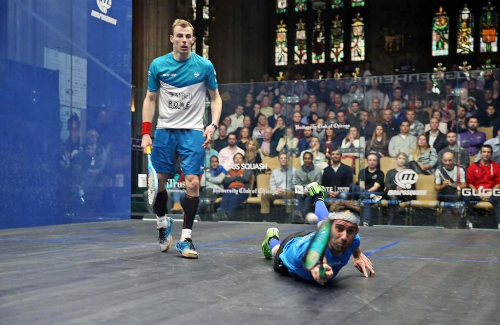 Nick Matthew came back from the dead to go through ©squashpics