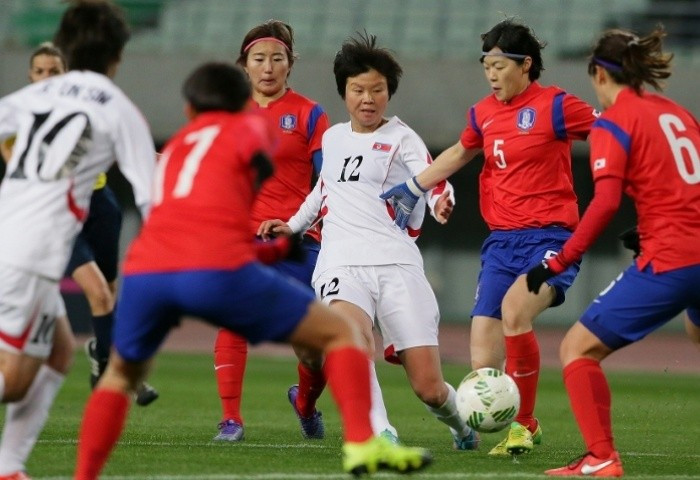 South Korea and North Korea drew 1-1