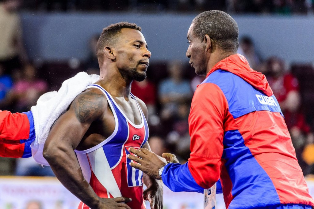 Cuba won five Greco-Roman gold medals on the final day of the Pan American Wrestling Championships in Frisco ©UWW