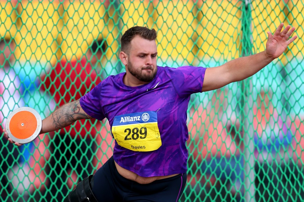 Davies will not be able to defend his discus title at Rio 2016