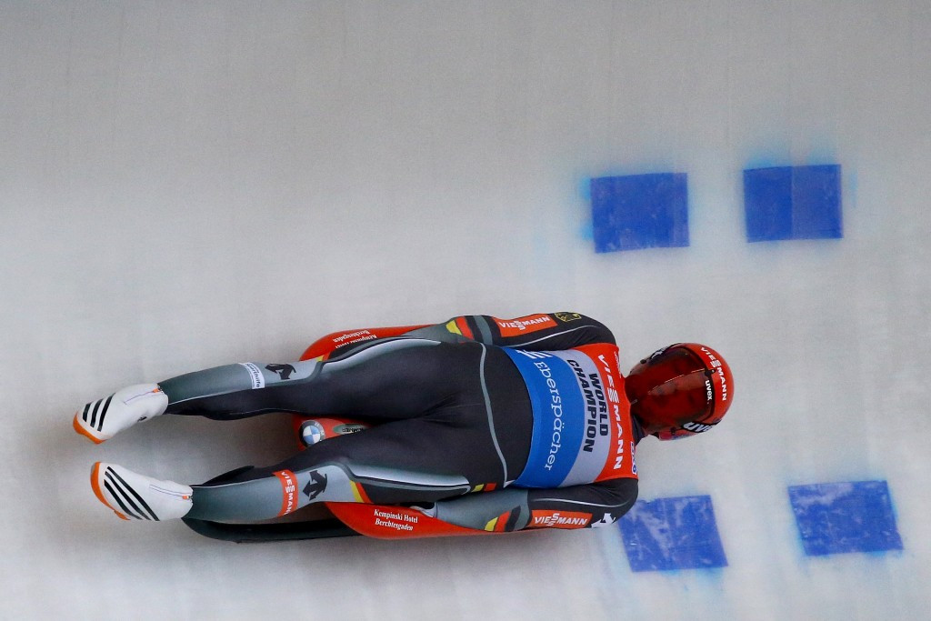 Felix Loch is a major name who will be testing the track in Pyeongchang