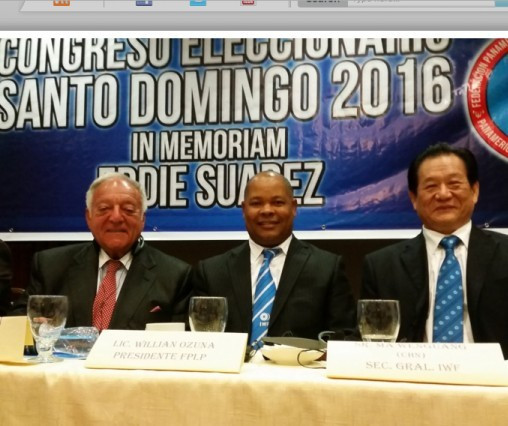 Willian Ozuna re-elected President of Pan-American Weightlifting Federation
