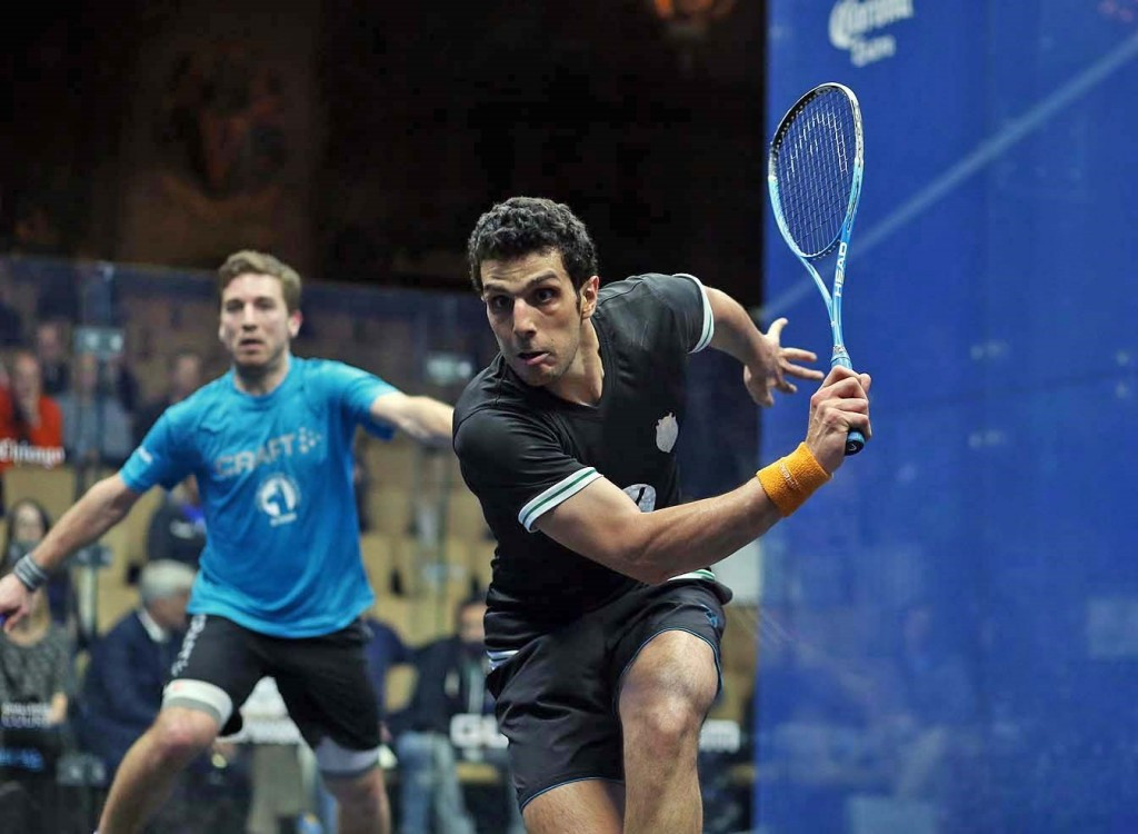 Egypt's Omar Mosaad beat France's Mathieu Castagnet to advance to the semi-finals