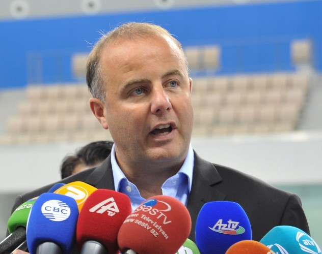 Ensuring athletics is properly represented at the 2019 European Games will be a key part of Pierce O'Callaghan's new role following the sport's minor role at Baku 2015 when none of the top stars took part ©Facebook