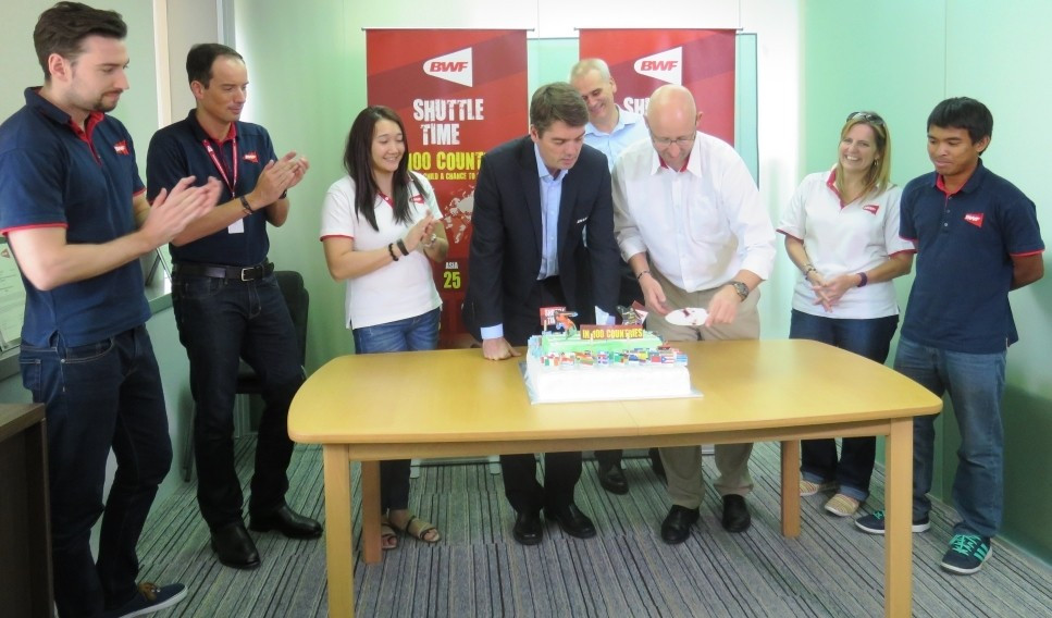 "BWF celebrates 100th implementation of ""Shuttle Time"" initiative in Panama"