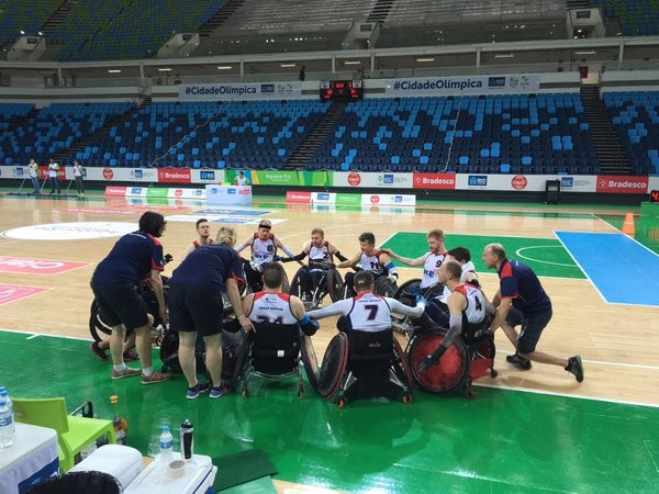 Britain claim gold medal at Rio 2016 wheelchair rugby test event
