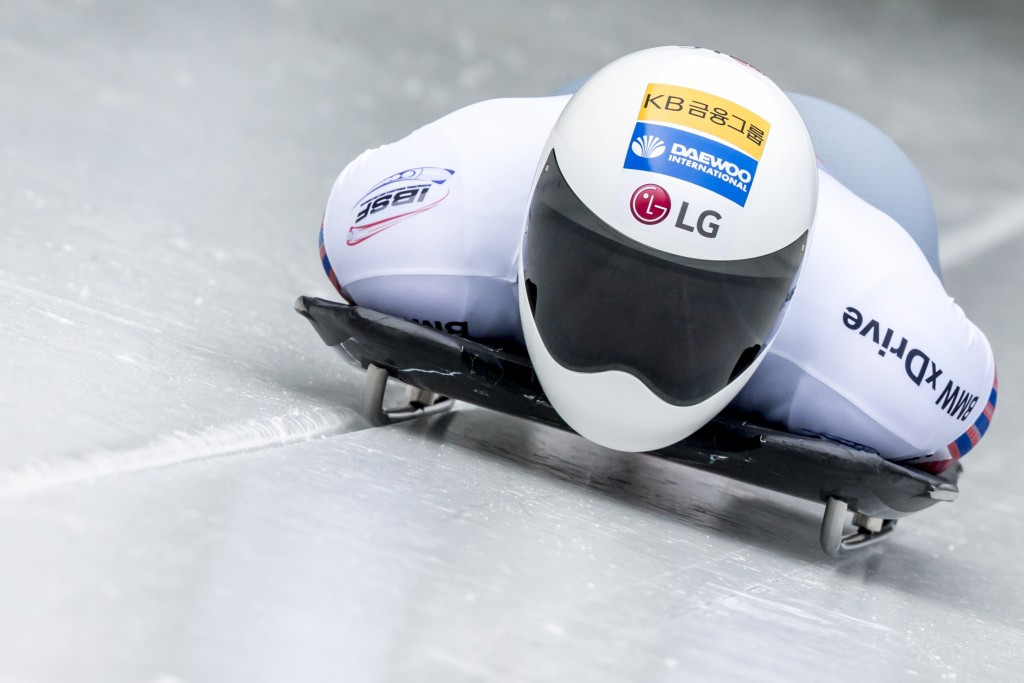 Yun Sung-bin became the first South Korean to win a medal at the skeleton World Championships when he finished second in Igls less than four years after taking up the sport ©Getty Images