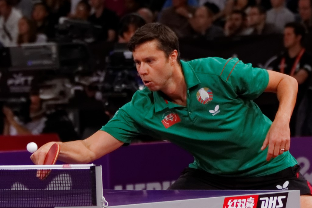 Samsonov to face tough Chinese test at ITTF Hungarian Open