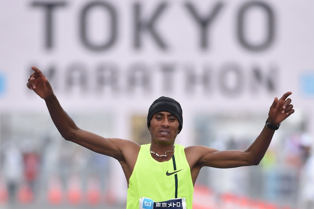 Tokyo Marathon winner Endeshaw Negesse has become the first Ethiopian runner named in relation to a failed doping test ©Getty Images