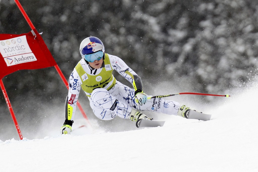 Lindsey Vonn's World Cup season is over after scans revealed she had suffered a fractured leg during a crash in Andorra ©Getty Images