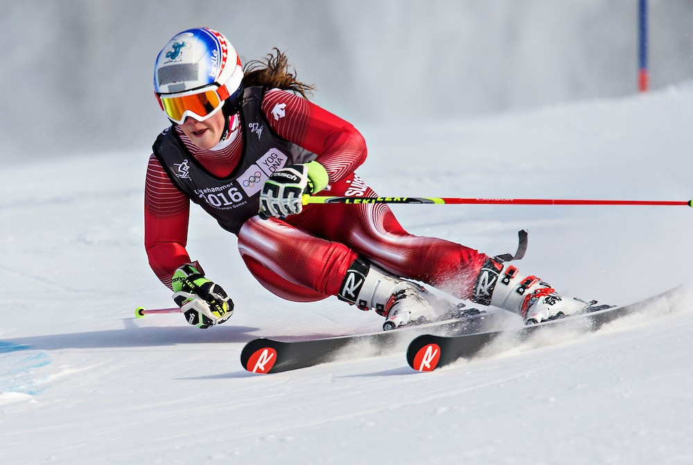Switzerland's Winter Youth Olympic Games giant slalom gold medallist Melanie Meillard had to settle for bronze at the FIS Alpine Junior World Championships in Sochi behind team-mate Jasmina Suter ©Lillehammer 2016