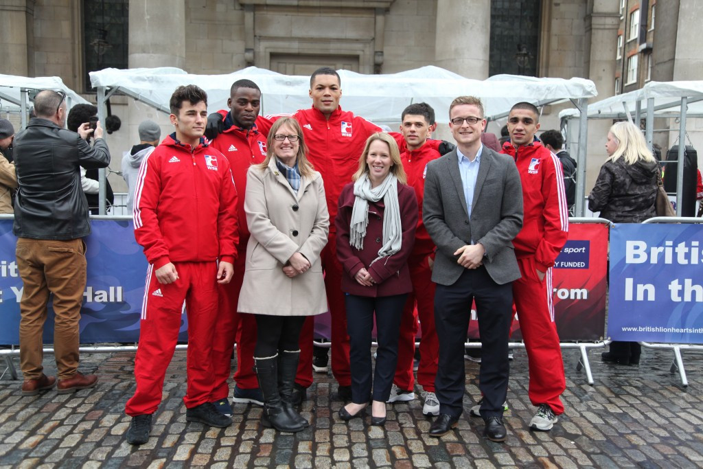 New British Lionhearts-backed programme launched to help boxing participation in London