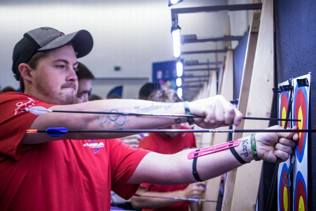 Ellison enjoys serene progress to second round of World Indoor Archery Championships
