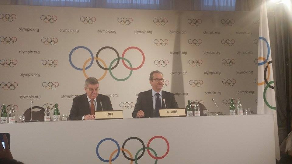 The plans were announced by IOC President Thomas Bach following an Executive Board meeting here today ©ITG