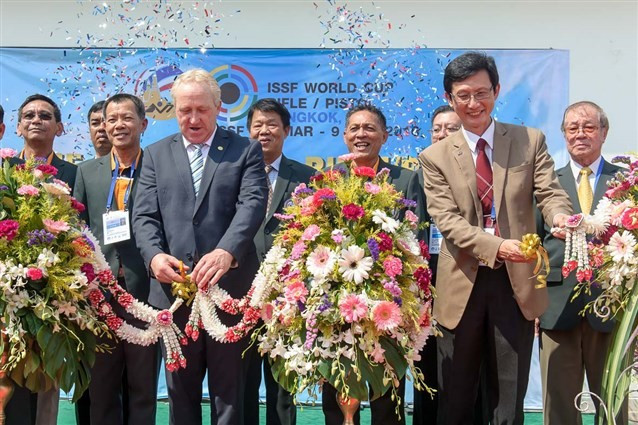 More than 300 shooters to compete at ISSF World Cup as Opening Ceremony held in Bangkok