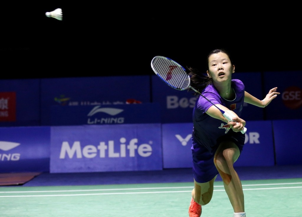 London 2012 champion makes winning start at BWF German Open