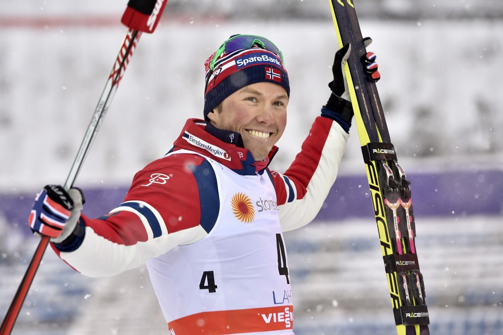 Emil Iversen picked up his first World Cup distance victory by winning the men's race