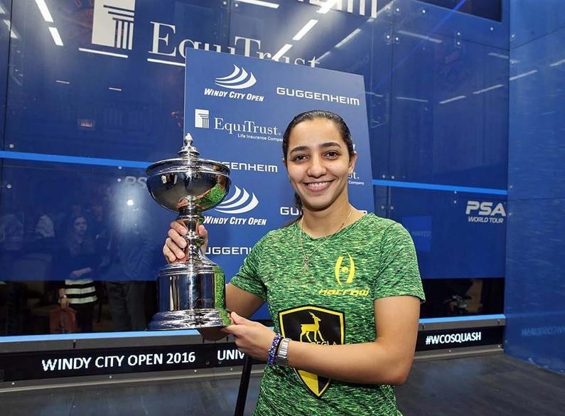 Raneem El Welily won her first title since September