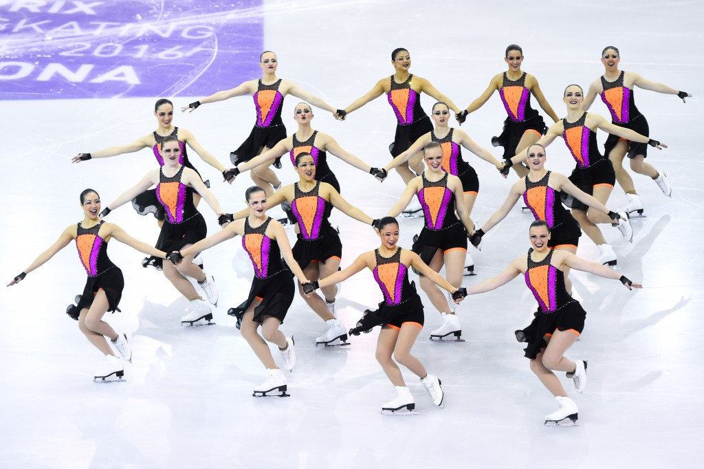 American team The Haydenettes will be among those competing in the synchronised competition