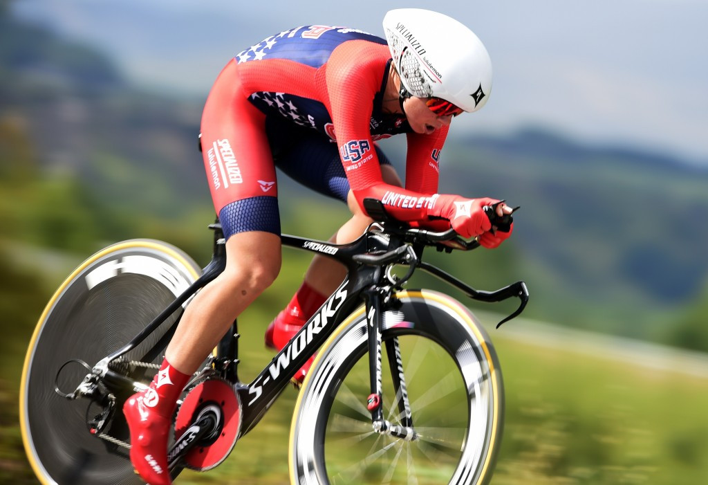 Evelyn Stevens is now targeting claimed a medal at the Rio 2016 Olympic Games