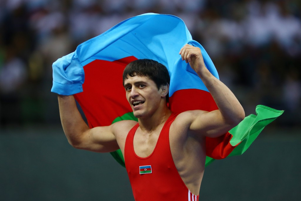 World champions such as Azerbaijan's 71kg winner Rasul Chunayev will be placed in the top half of the draw at Rio 2016 and will not be able to meet the silver medallists until the final ©Getty Images
