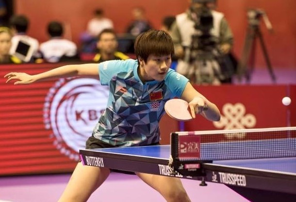 China continued their title defence by beating The Netherlands 3-0 ©Facebook/ITTF
