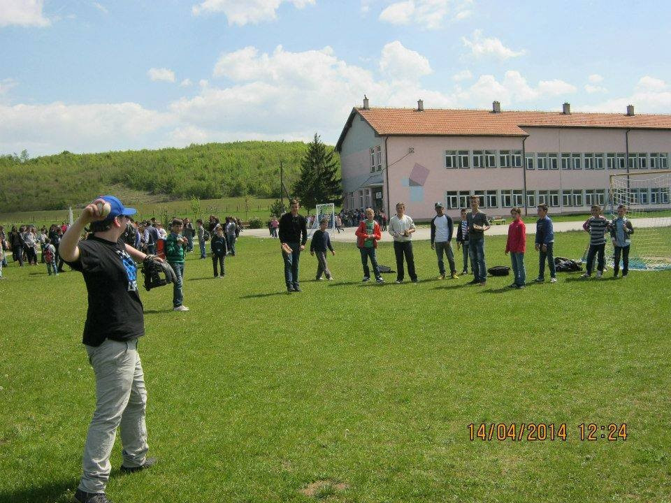 An initiative is underway to develop baseball in Kosovo ©Kosovo Baseball Initiative