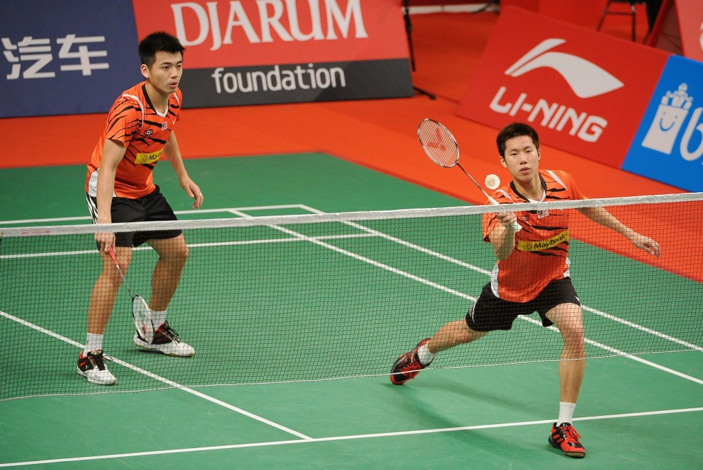 Malaysian pair dump second seeds out of men's doubles event at BWF German Open