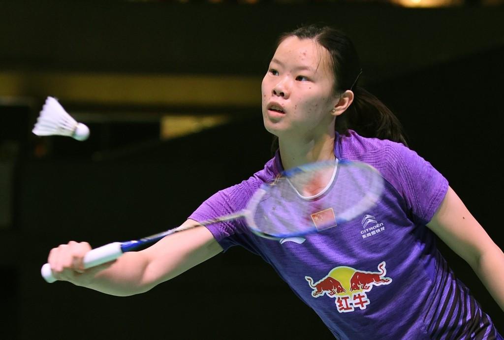 London 2012 Olympic champion Liu Xuerui is safely through to the next round