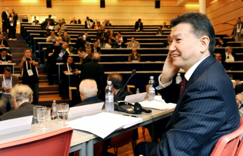 Kirsan Ilyumzhinov was last re-elected to his post in 2014 in elections held in Tromsø in Norway ©Getty Images