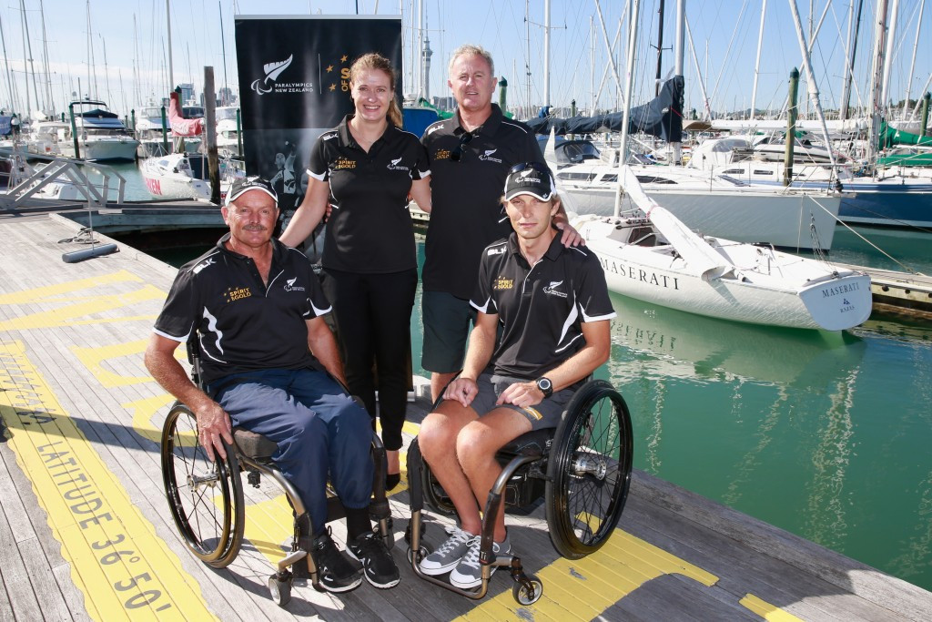 Sonar sailors announced as first three members of New Zealand's Rio 2016 Paralympics team