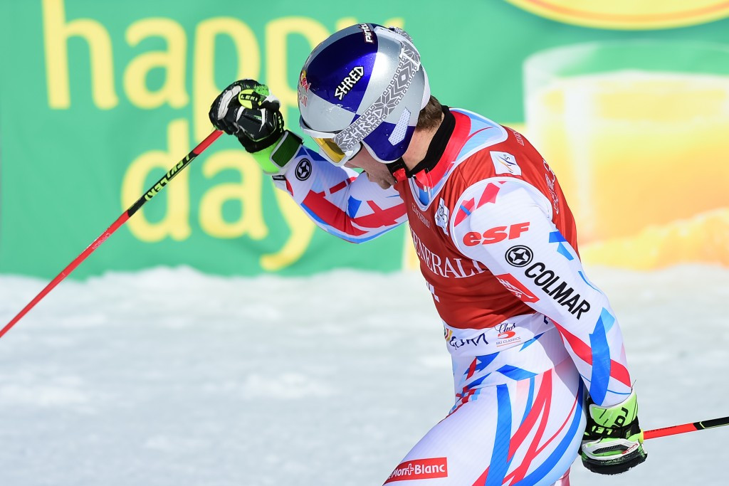 Alexis Pinturault raced to another giant slalom win in Slovenia ©Getty Images
