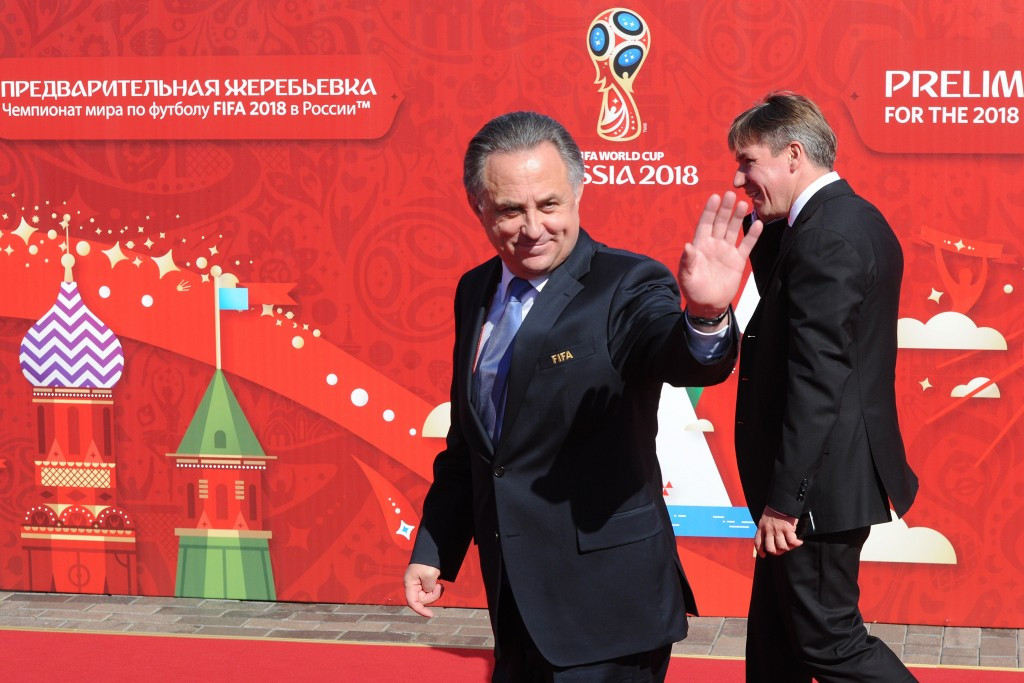 Russian Sports Minister Vitaly Mutko says the nation has the chance to unify FIFA during the 2018 World Cup ©Getty Images