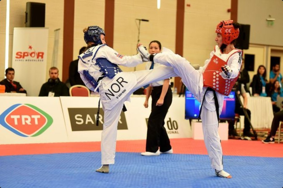Iranian-born Belgium resident Raheleh Asemani is one refugee athlete who has already qualified for Rio 2016 ©Turkish Taekwondo Federation