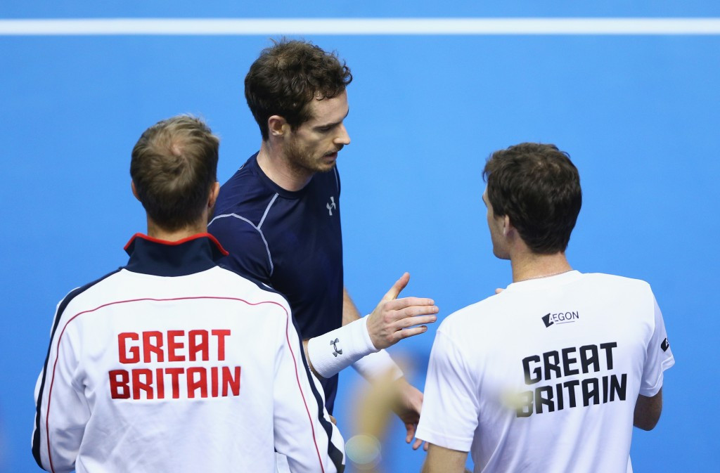 Holders tied with Japan after opening day of Davis Cup action