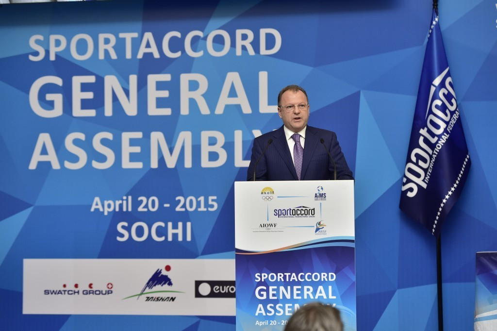 SportAccord has been floundering over the last 12 months since Marius Vizer's tumultuous Sochi speech ©SportAccord