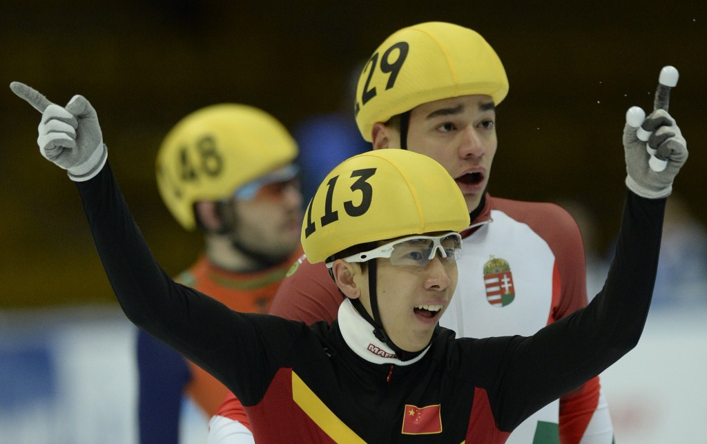 Han Tianyu continued the Chinese domination by clinching gold in the men's 1,500m event