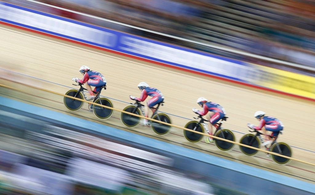 United States earn maiden women's team pursuit title at UCI Track World Championships