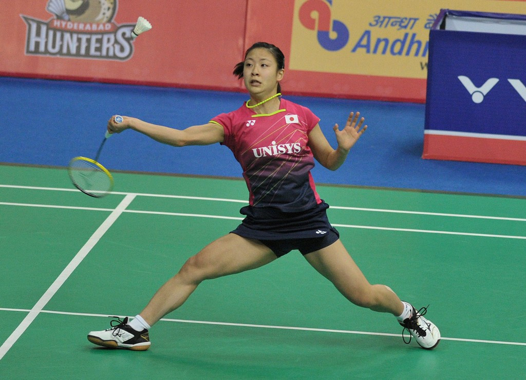 Japan's Nozomi Okuhara is still in contention for the women's singles title