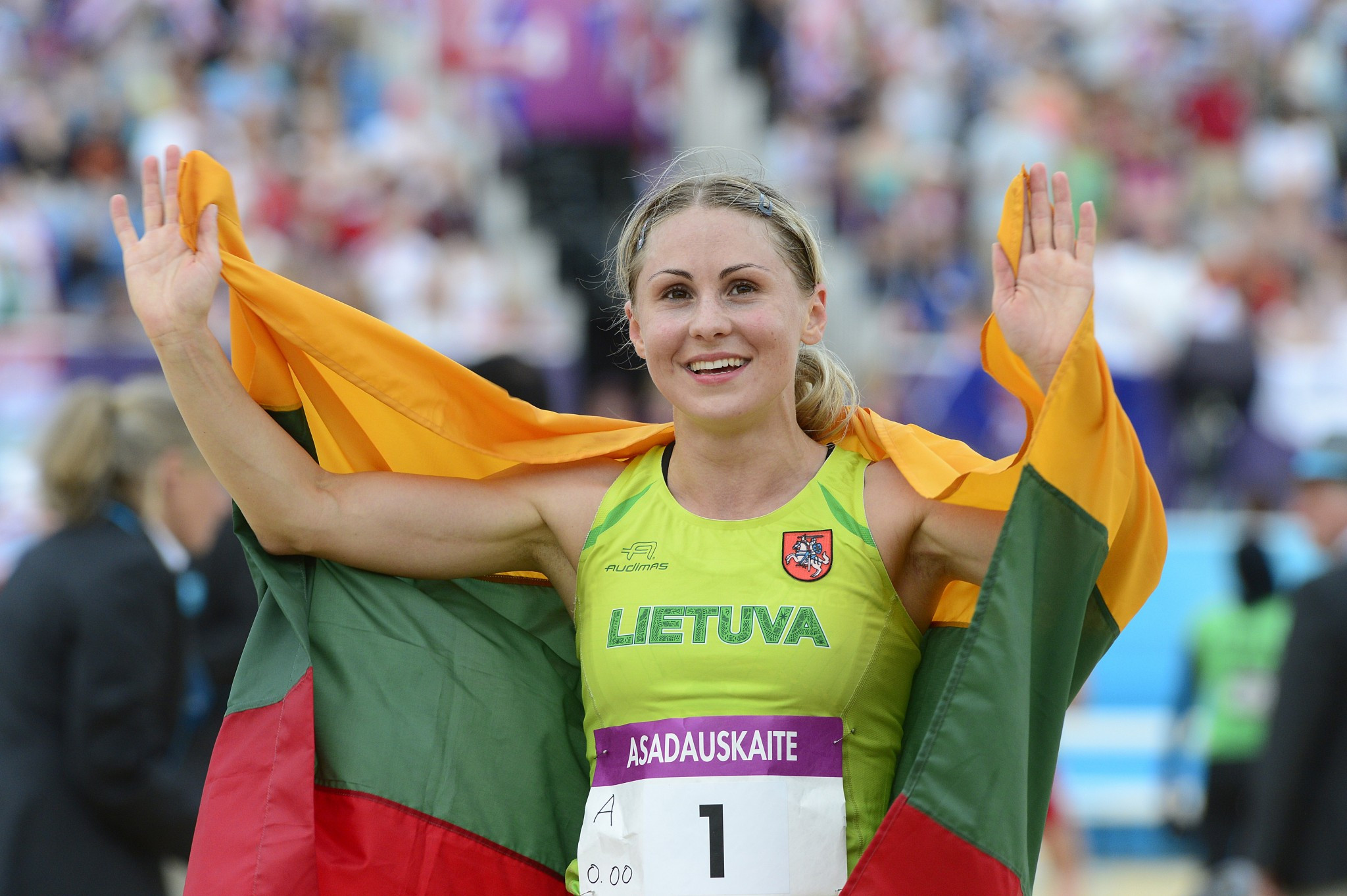 Reigning European and Olympic champion Laura Asadauskaite progressed through to the final ©Getty Images