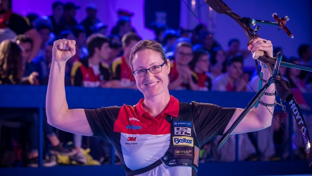 Unruh triumphs on golden day for Germany at World Indoor Archery Championships
