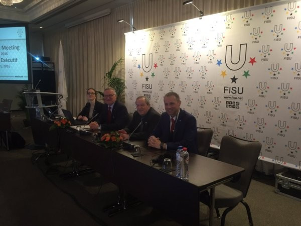 FISU made their decision in Brussels